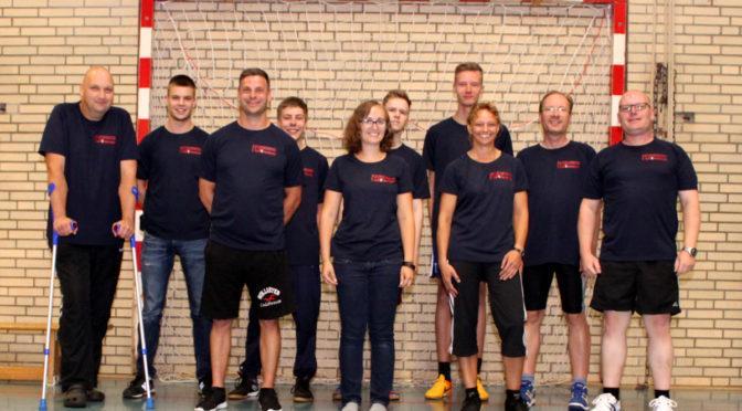 Neue Shirts für die Sportabteilungen der Feuerwehr Bad Bevensen