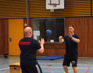 Beim Training