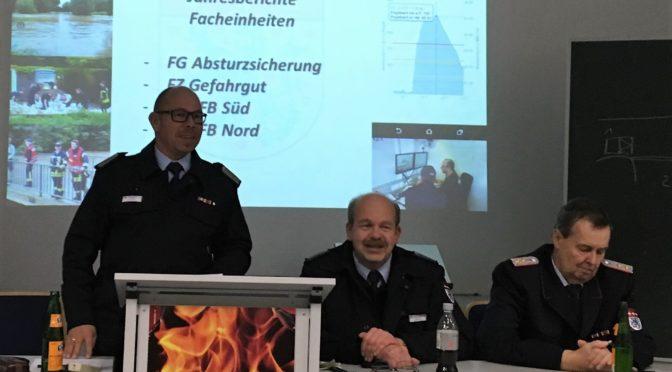 Jahresabschlussversammlung der Kreisfeuerwehreinheiten Uelzen