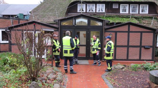 Gruppenführerfortbildung im Zug Süd der Samtgemeinde Rosche