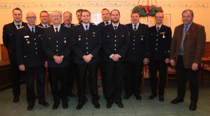 Arbeitsreiches Jahr für die Feuerwehr Röbbel
