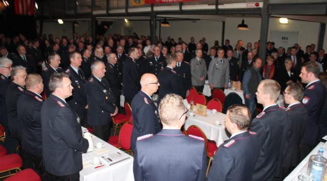 Dienstversammlung der Gemeinde-, Stadt-, und Ortsbrandmeister der Freiwilligen Feuerwehren des Landkreises Uelzen