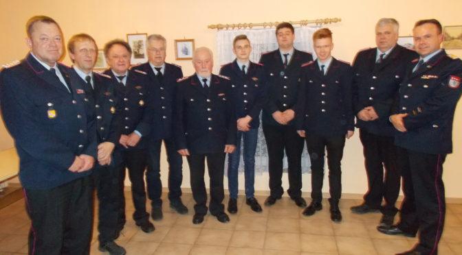 Generalversammlung der Feuerwehr Teyendorf-Göddenstedt