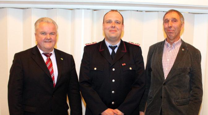 Vierte Amtszeit für Ortsbrandmeister Horlitz in Hagen-Schlagte