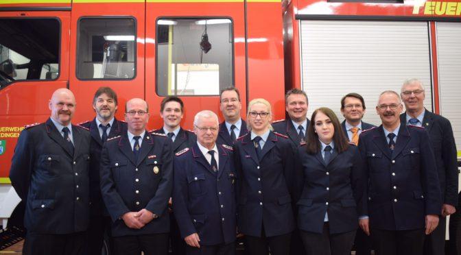 128. Jahreshauptversammlung der Feuerwehr Altenmedingen