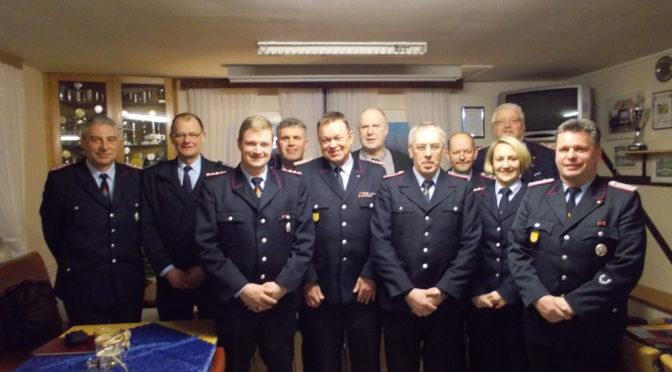 """Jahreshauptversammlung der Feuerwehr Jarlitz im Dorfgemeinschaftshaus  """"Holzhausen"""""""