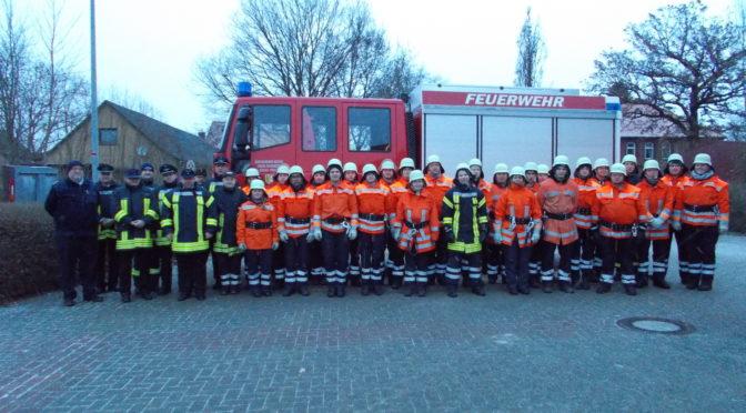 26 junge Feuerwehranwärter in der Samtgemeinde Rosche