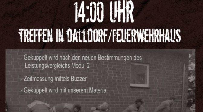 Einladung am 9. Juni 2018 zum Kuppelkontest in Dalldorf