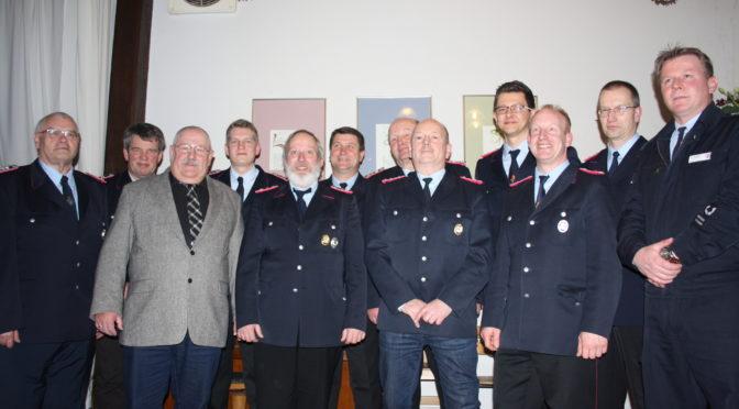Wahlen und Ehrungen bei der 86. Generalversammlung der Feuerwehr Klein Süstedt (Hansestadt Uelzen)