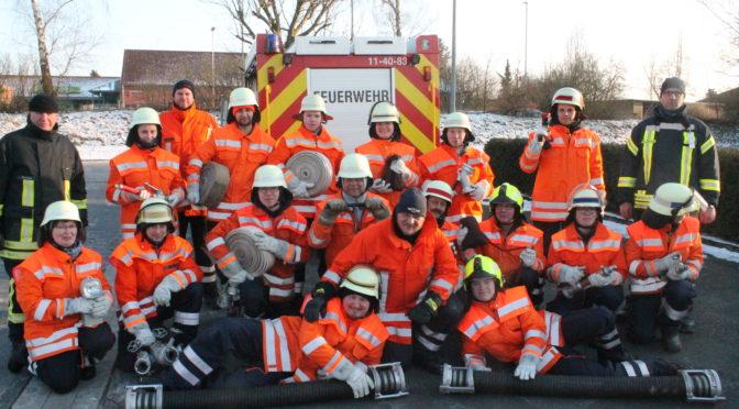 Neue Feuerwehrkräfte ausgebildet in der SG Bevensen-Ebstorf ausgebildet