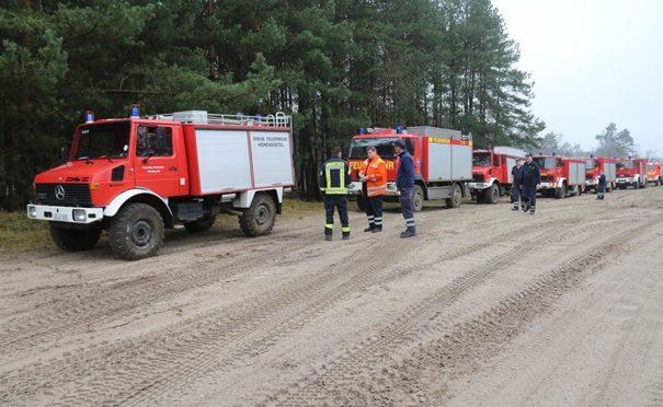 Geländefahrtraining für Maschinisten der Feuerwehr