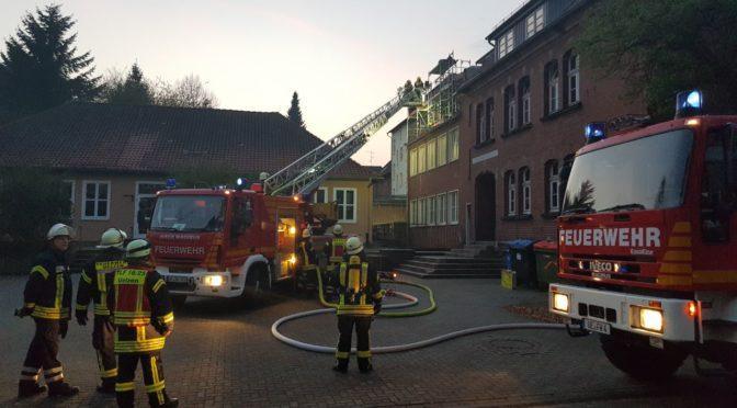 Schwelbrandbrand in der Kaiserstraße