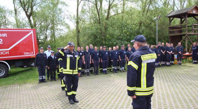 Uelzener Kreisbrandmeister bestellt neue Führungskräfte der Kreisfeuerwehrbereitschaft Nord