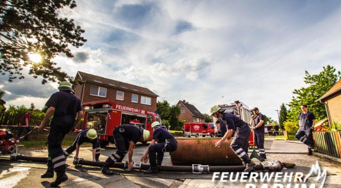 Ortsfeuerwehren Tätendorf-Eppensen und Testorf Sieger bei Barumer Wettbewerbswochenende