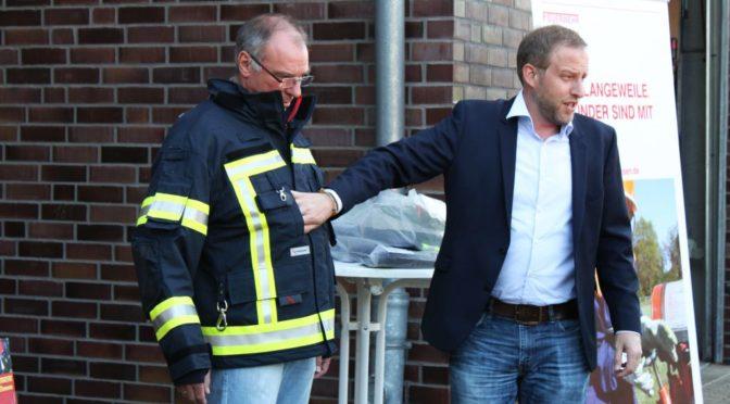 Der Förderverein der Freiwilligen Feuerwehr Bad Bevensen e.V. investiert in Sicherheit