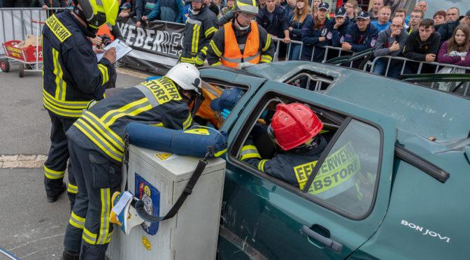 Ebstorfer Feuerwehr-Team vertritt Heideregion bei Deutscher Meisterschaft und erreicht Spitzenplatz in der Unfallrettung