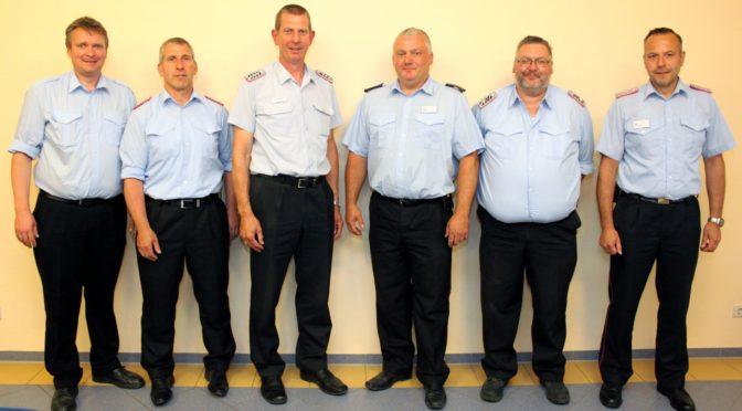 Gemeindebrandmeister Lühr hält erste Gemeindekommandositzung der FFw Bevensen-Ebstorf ab
