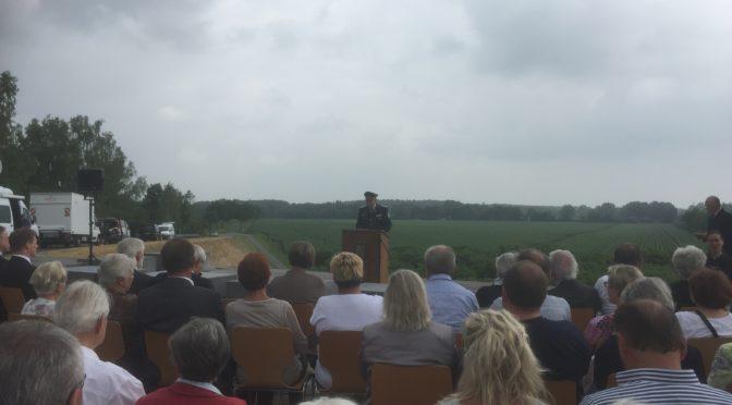 Gedenkfeier anlässlich des 20. Jahrestags des Zugunglückes von Eschede