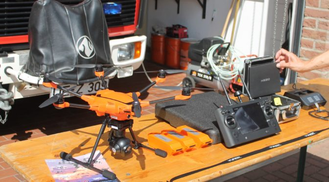 Erste Drohne bei der Feuerwehr im Landkreis Uelzen