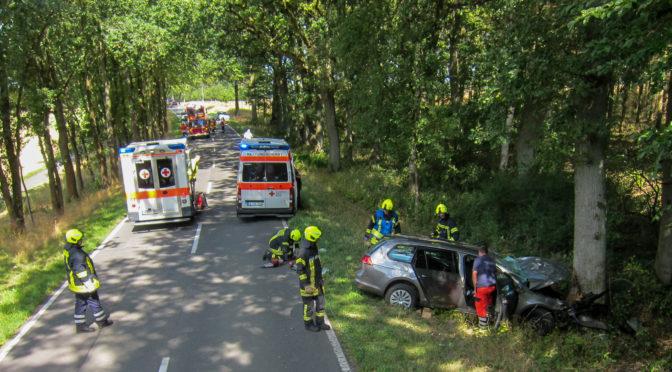 Tragischer Verkehrsunfall zwischen Velgen und Oetzefelde