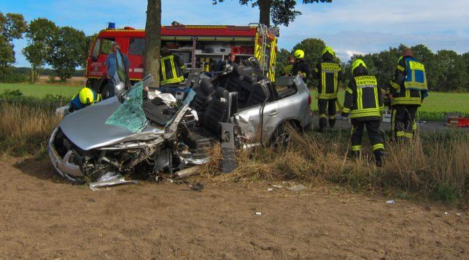 Verkehrsunfall zwischen Ebstorf und Wessenstedt