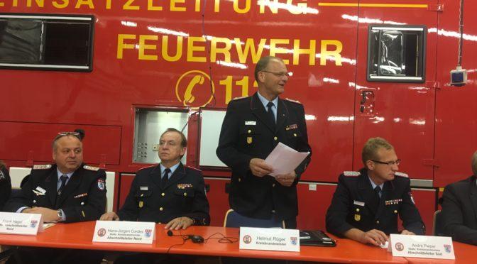 Dienstversammlung der Kreisfeuerwehr: Pieper und Busenius wiedergewählt!