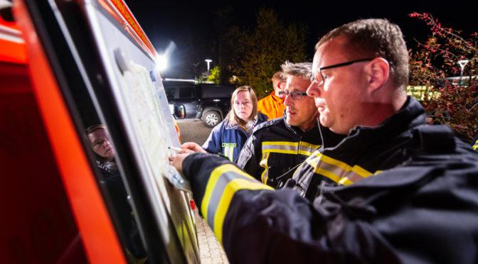 60 Einsatzkräfte an Personensuche in Bad Bevensen beteiligt