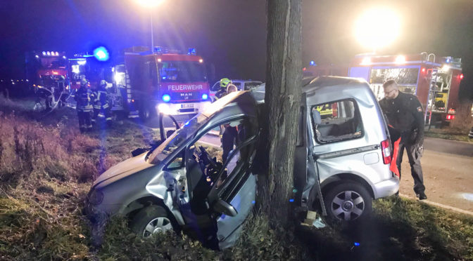 Zwei Männer verunglücken zwischen Ebstorf und Melzingen