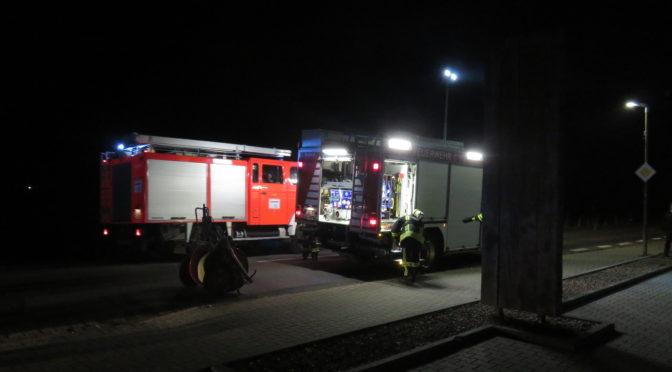 Ungeklärte Rauchentwicklung bei Tischlerei Weichsel in Suhlendorf.