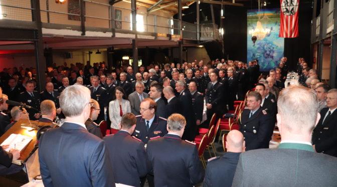 Kreisfeuerwehr informierte bei Dienstversammlung die Ortsbrandmeister