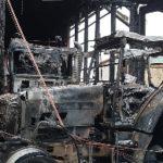 Maschinen- und Lagerhallenbrand in Bockholt