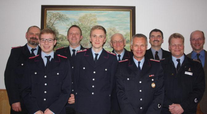 85. Generalversammlung der Feuerwehr Hansen (Hansestadt Uelzen)