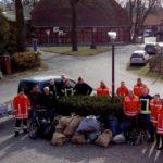 Brandschützer aus Stederdorf sammeln Müll
