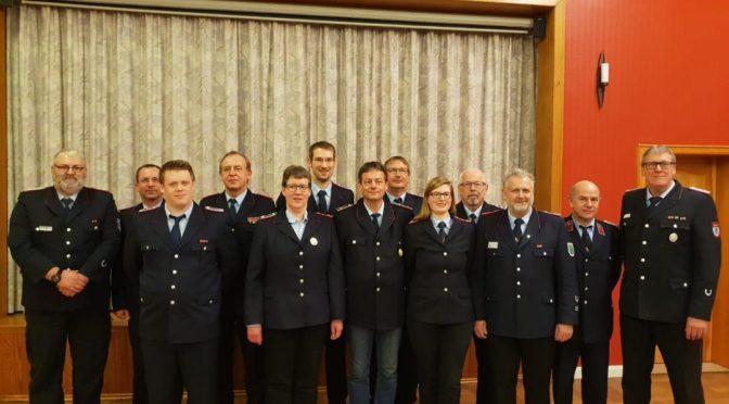 Jahreshauptversammlung FFw Brockhimbergen-Kollendorf