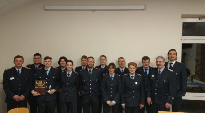 193. Jahreshauptversammlung der Freiwilligen Feuerwehr Golste in Natendorf
