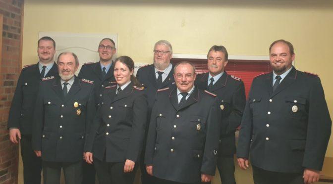 Generalversammlung der Freiwilligen Feuerwehr Stöcken