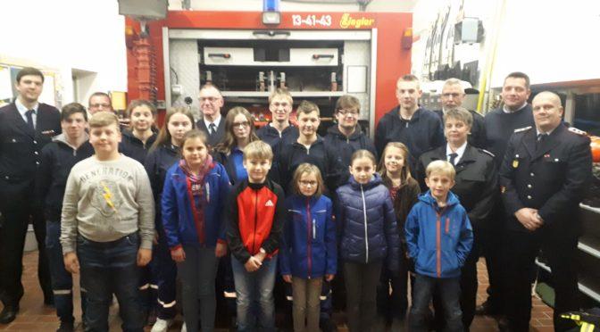 Jahreshauptversammlung der JuK-Feuerwehr Schwemlitz-Bankewitz