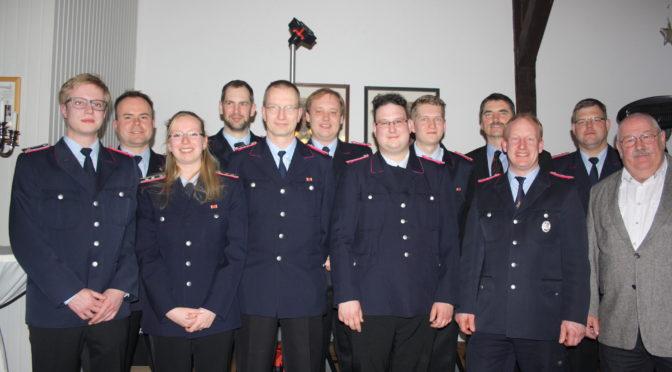 Wahlen und Ehrungen bei der 87. Generalversammlung der Feuerwehr Klein Süstedt (Hansestadt Uelzen)