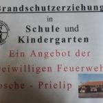 Brandschutzausbildung in der FF Rosche-Prielip