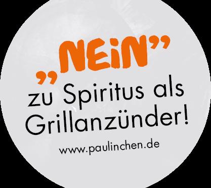"""""""Nein"""" zu Spiritus als Grillanzünder!"""