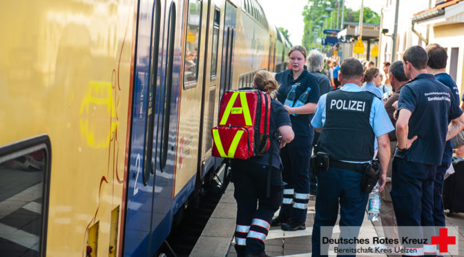 Hilfeleistungseinsatz auf Bahnhof in Bienenbüttel fordert Großaufgebot an Einsatzkräften