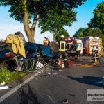 Verkehrsunfall auf der L270 - Aufwendige Suche nach einem Kind
