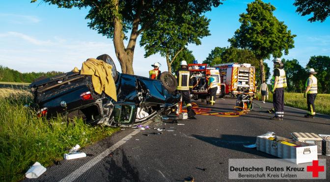 Verkehrsunfall auf der L270 – Aufwendige Suche nach einem Kind