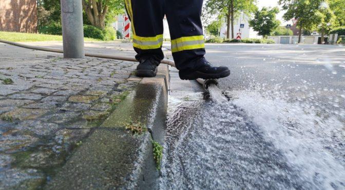 Arbeitsreicher Morgen für die Feuerwehren der Hansestadt Uelzen