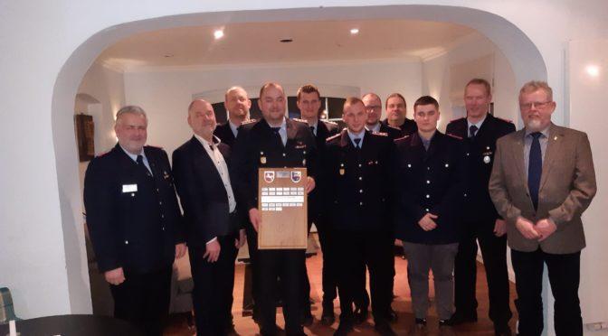 Ehrung für 70 Jahre Mitgliedschaft – Hans Herman Schwarz ist seit Gründung der Freiwilligen Feuerwehr Secklendorf dabei