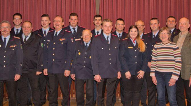 Jahreshauptversammlung der OrtsFw Wriedel-Schatensen