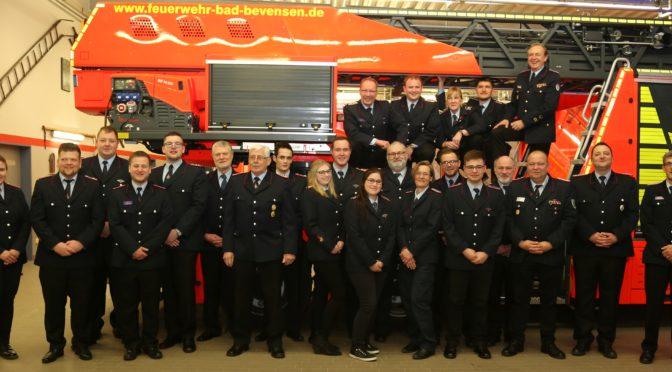 Feuerwehr Bad Bevensen wählt Ortsbrandmeister und Stellvertreter
