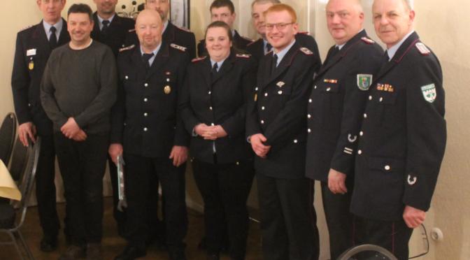 Olaf Venske als Ortsbrandmeister wiedergewählt