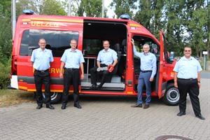 Neuer Mannschaftstransportwagen ersetzt 26 Jahre alten Vorgänger der Kreisfeuerwehr