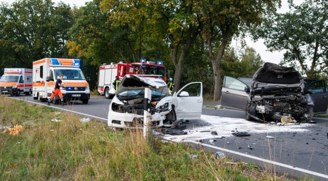 Verkehrsunfall zwischen Bollensen und Wieren